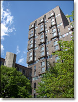 The eastwood housing complex on Roosevelt Island, New York City, 10044